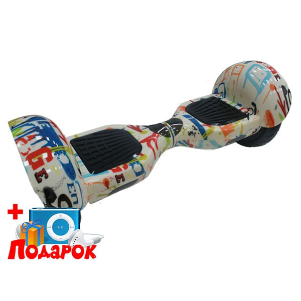 Гироскутер Ecodrift Big Daddy - Граффити 10 дюймов