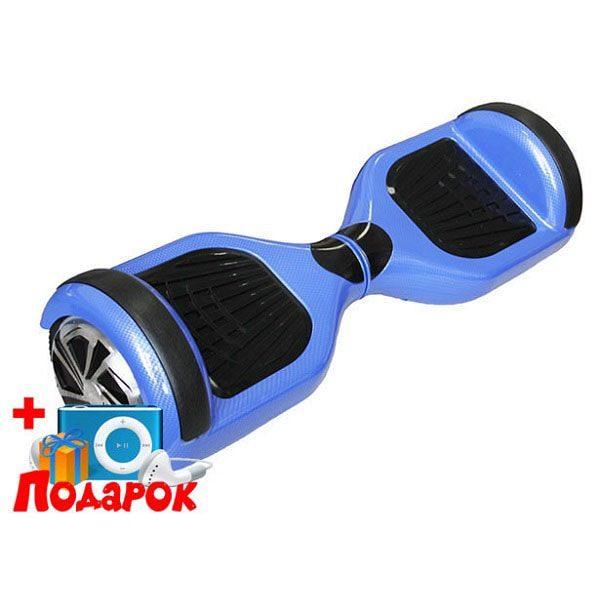 Гироскутер Smart Balance Wheel - Карбон синий 6,5 дюймов