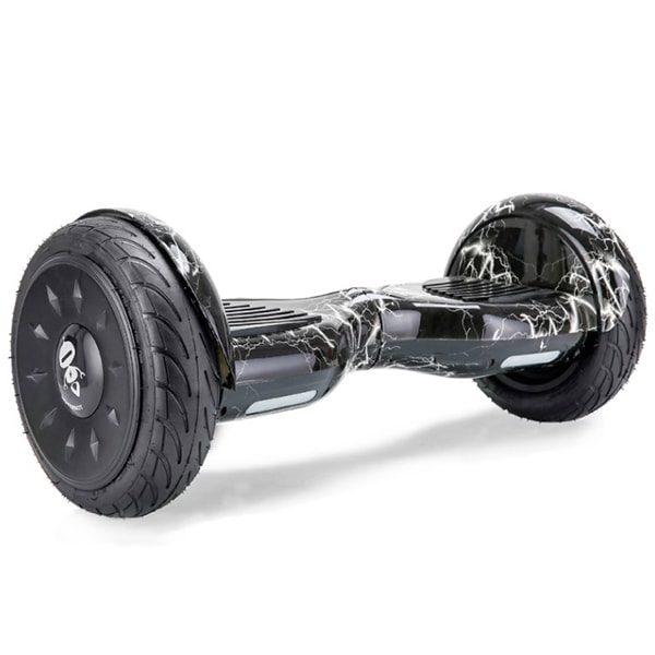 Гироскутер Hoverbot C2 - Чёрный (молния) 10 дюймов